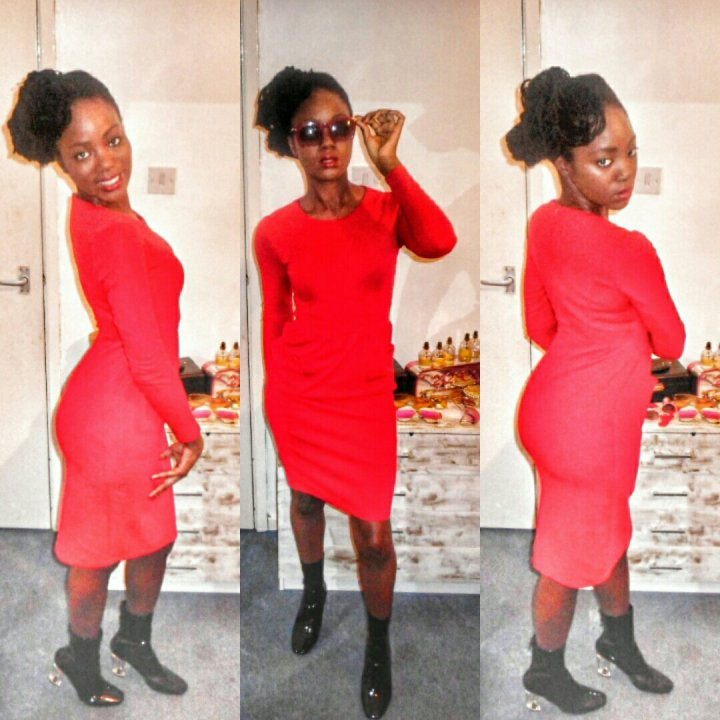 Mystere's Closet Red Dress