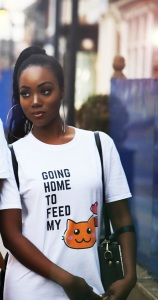 Going Home to Feed my Cat T-Shirt